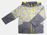 4147 Куртка для девочек на флисе