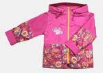 4145 Куртка для девочек на флисе (ростовка