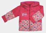 4146Куртка для девочек на флисе