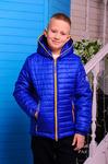 Куртка демисезонная для мальчика «Монклер-4»