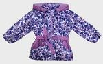 4228 Куртка для девочек на флисе