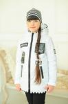 Куртка демисезонная+шапка для девочки «Бони»