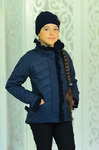 Куртка демисезонная+шапка для девочки «Одри»