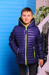 Куртка демисезонная для мальчика «Монклер-2»