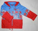 4098 Куртка для мальчиков на флисе