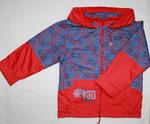 4106 Куртка для мальчиков на флисе