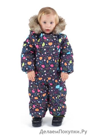 Зимний комбинезон для малышей