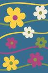 Прямоугольный ковер Merinos Cristal fhn 1021