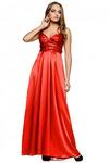 Вечернее платье с нежным поясом   RM121-13VP