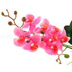 """67154 - Цветок """"Орхидея сиреневая"""" с корнем 43см"""