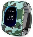 Детские часы с GPS Baby Watch Q50 OLED (милитари)