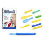 ARK's Z-Vibe Sensory Oral Motor Kit - ultimate kit with most popular tips, exercise book, and storage case