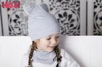 Взрослая двухслойная демисезонная шапка Кенгуру (цвет в ассортименте)