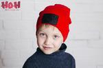 Снуд к взрослой удлиненной шапке с подворотом BOY (цвет в ассортименте)