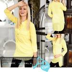 Свободная асимметричная блуза 42 44 46 48