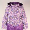 Пальто на девочку Есения фиолетовый