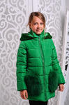 """Зимняя куртка для девочки """"Сандра"""""""