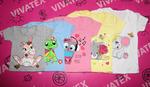 Детская футболка Мышка для девочки фулликра