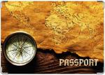 Обложка на паспорт Путешественник
