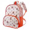 Рюкзак 241 оранж/дизайн мишки 23х8х29