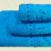 Комплект махровый из трех арт. 860 (бирюзовый)