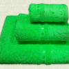 Комплект махровый из трех арт. 860 (салатовый)