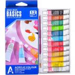 Набор акриловых красок 12цв*6мл BASICS