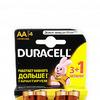 Батарейки АА LR6 DURACELL (4 шт.)
