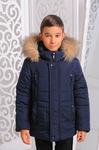 Зимняя куртка для мальчика «Ден» (размер 42-46)