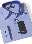 Рубашка с отделкой воротника,размеры 92-170