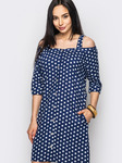 Платье, лен, размеры 44-54
