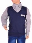Рубашка с жилетом T25000