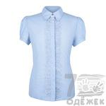 822-16111-1 Блузка для девочки с коротким рукавом, р. 140-164