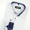 Рубашка в узор,размеры 116-170