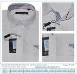 Рубашка школьная модал короткий рукав бизнес класс  (Артикул DD-3035 MDL/B)