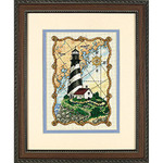 Dimensions Needlecrafts Counted Cross Stitch, Mariners Light