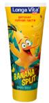 Детская зубная паста Longa Vita для детей от 2-х лет серии Angry Birds Banana Split