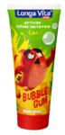 Детская зубная паста-гель Longa Vita для детей от 3-х лет серии Angry Birds Bubble Gum