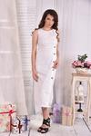 Платье 0550-3 молоко.