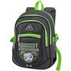 рюкзак молодежный (черно-зеленый)