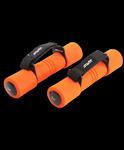Гантель неопреновая DB-203 1 кг, оранжевая STARFIT