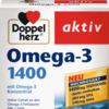 Doppelherz Омега-3 1400 Капсулы, 30 шт