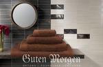 Махровое полотенце Гутен Морген (цвет: Какао)