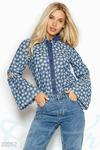 Оригинальная джинсовая рубашка