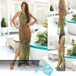 Аккуратное длинное платье