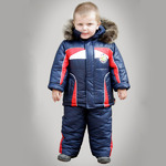 Зимний комбинезон для мальчика «Красный Уголок»