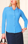 Блузка 012015 (голубой) 882