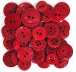 Набор декоративных пуговиц 'Dress It Up' (59 Красный)