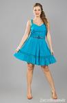 Платье 14023-4 бирюза