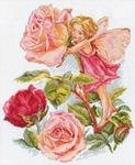 """Набор для вышивания крестом """"Фея розового сада"""""""